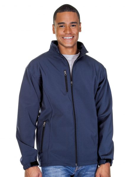 Mens 3 Layer Fleece Bonded Soft Shell Jackets