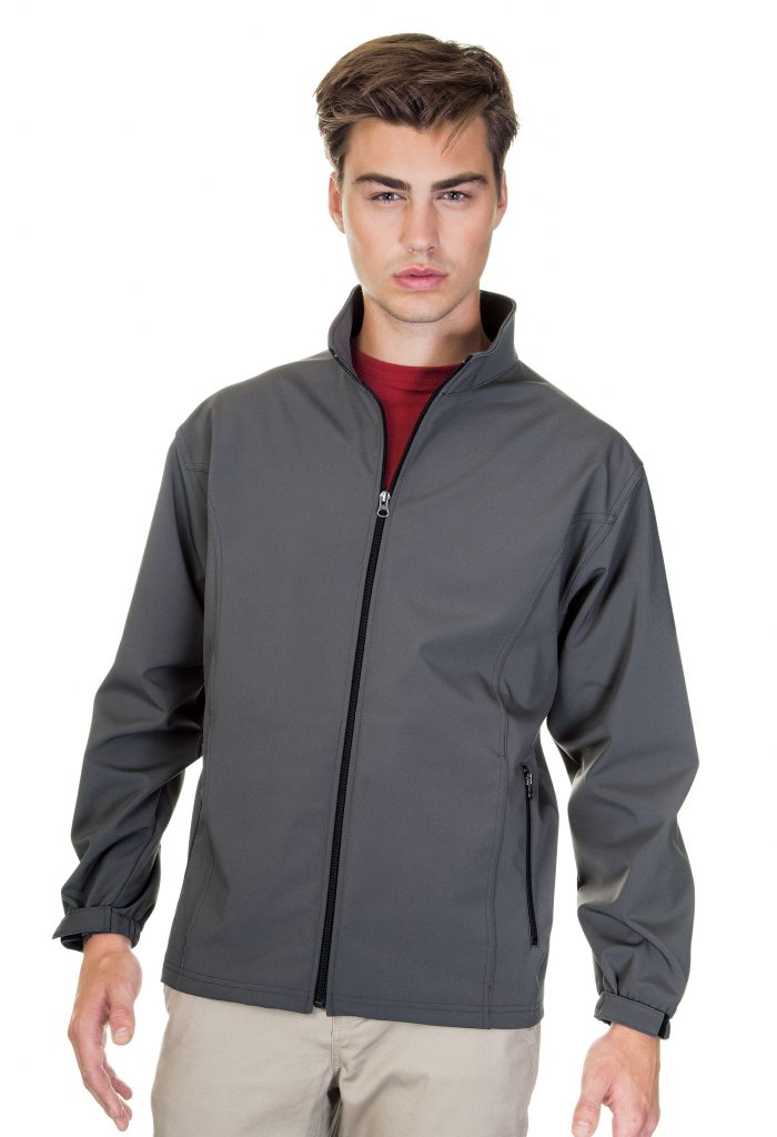 Mens lightweight 3 layer bonded soft shell jackets union for High end golf shirts
