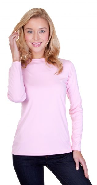 Ladies Performance Interlock Long Sleeve T-Shirt
