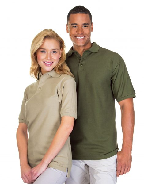 Classic Cotton Pique Polo Shirt