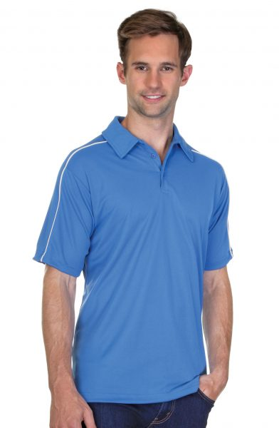 Mens Performance Pique Polo Shirt