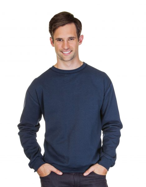 Mens Crew Neck Pre Washed Sweatshirt