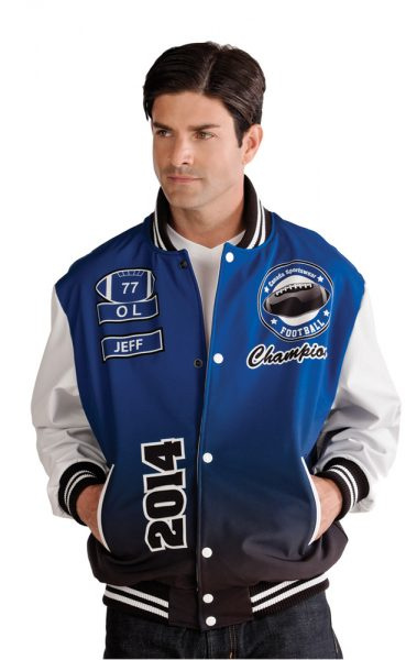 Custom Sublimated Varsity Jacket