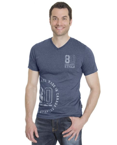 Mens V-Neck T-Shirt (Ethica)