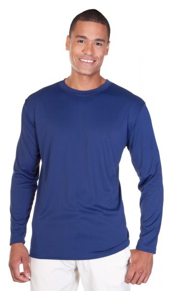 Mens Performance Interlock Long Sleeve T-Shirt