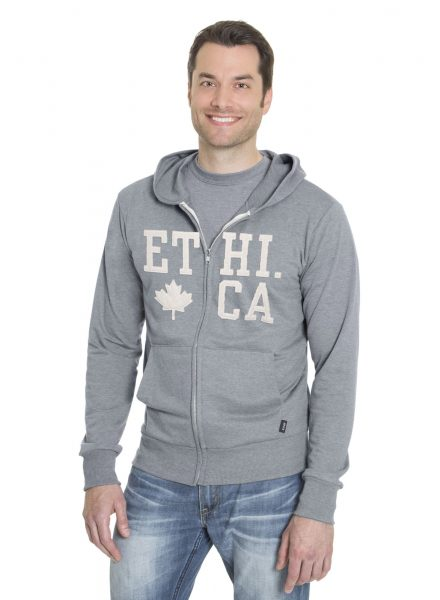 Mens Hoodie Full Zip Sweater (Ethica)