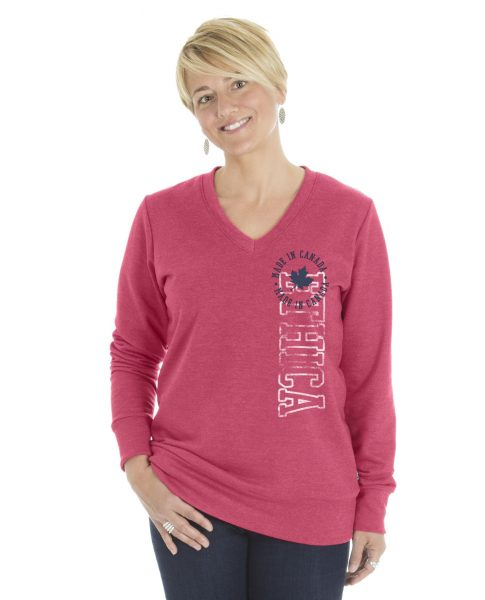 Ladies V-Neck Sweater (Ethica)