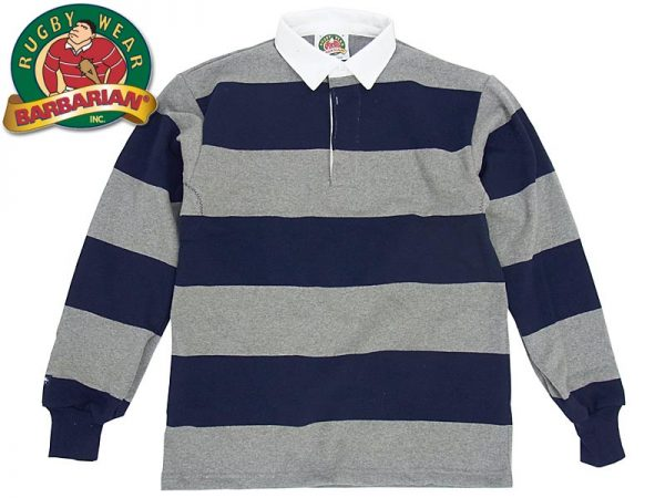 Classic Striped Rugby T-Shirt