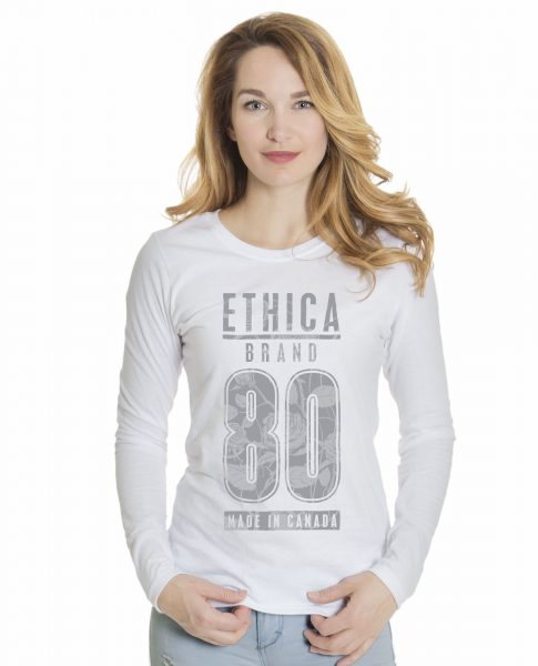 Ladies Long Sleeve T-Shirt (Ethica)