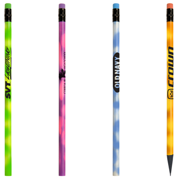 Recycled Mood Pencil with Matching Eraser
