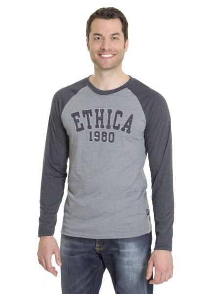 Men's Raglan Long Sleeve T-Shirt (Ethica)
